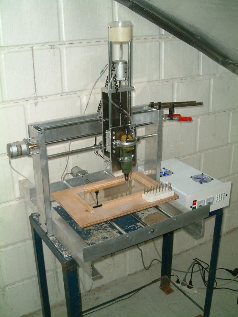 W Mega Frezarka CNC home made za 1300zł ! ! ! [FOTO] - elektroda.pl XI02